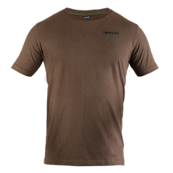 Picture of T-Shirt 2WOLFS brown