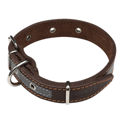 Picture of Reflective Dog Collar NATURE MINI with a swivel